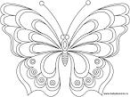 Раскраски бабочек детей
