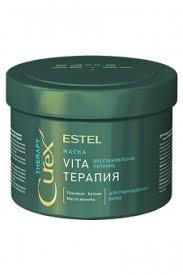 Estel Curex Therapy <b>Интенсивная маска для</b> поврежденных волос ...
