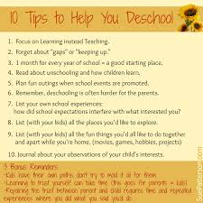 tips to help you deschool sue patterson coaching