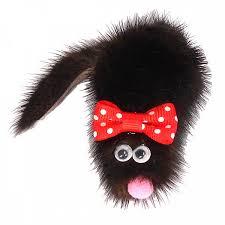 <b>Игрушка для кошек GoSi</b> МИККИ из натуральной норки 5х8 см