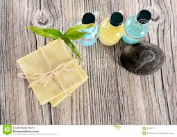 Spa Organic <b>Soap</b>, <b>Stone</b> And Oil Stock Image - Image of alternative ...