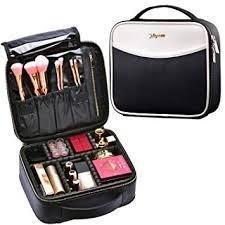 women makeup bag pu leather zipped tassels marbling brush organizer travel toiletry cosmetic bags opk