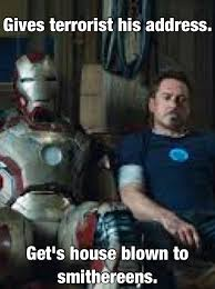 My Iron Man 3 meme by ChanceTheHedgie15260 on DeviantArt via Relatably.com