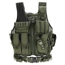 Amazon.com : Lixada <b>Tactical Vest Military</b> Airsoft <b>Vest</b> Adjustable ...