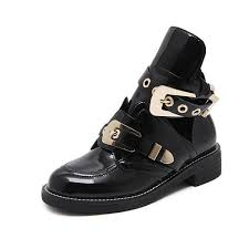 Hot Sale <b>European Famous Brand Woman</b> Boots Buckle Strap ...