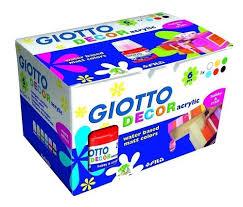 """Акриловые <b>краски</b> """"Decor <b>Acrylic</b>"""" 6 цветов бренда <b>Giotto</b> – купить ..."""