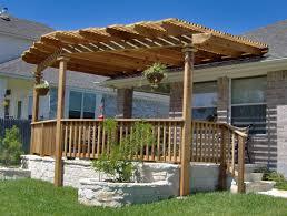 w h b p modern patio arched wood pergola walmartcom b f ce cdab affcbbaafbd