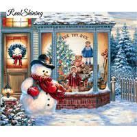 Snow And Christmas <b>Diy Diamond painting</b> - Shop Cheap Snow ...