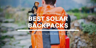 6 Best <b>Solar</b> Backpacks | 2020 Reviews (Voltaic, SUNNYBAG ...