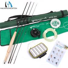 High Quality <b>Fly Fishing</b> set include Line, Reel and <b>Rod</b> 6.6FT Mid ...