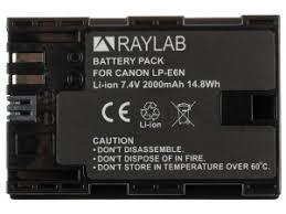 <b>Аккумулятор Raylab RL</b>-LPE6N 2000мАч (для EOS 6D 60D, 70D ...