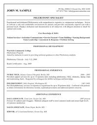 letter phlebotomist cover letter