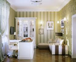 bedrooms elegant home design inspiration with brown wall with striped motive white brown sofa with striped awesome home office setup ideas rooms