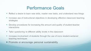 setting your goals for ttess memorial hs training  5 performance