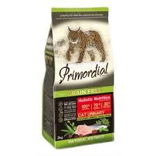 <b>Сухой корм PRIMORDIAL</b> для кошек с МКБ, беззерновой ...