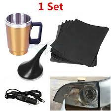 <b>6Pcs</b> Polishing Sandpaper Car Headlight Lens Repair/Restoration ...