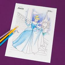 Small Picture Cinderella Coloring Page Disney Family