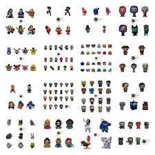Shopkins Toys <b>Refrigerator PVC Fridge</b> Magnets Lot of <b>10</b> Assorted ...