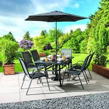 Montagu <b>8 Piece Garden</b> Dining Set - Buy Online at QD Stores