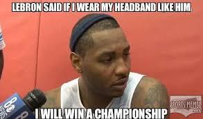 Photos: Carmelo Anthony sucks memes | Westword via Relatably.com