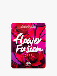 <b>Origins Flower Fusion</b> Rose Hydrating Sheet Mask at John Lewis ...