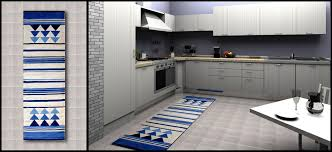 Contemporary Kitchen Rugs Blue Gray Kitchen Rugs Cliff Kitchen