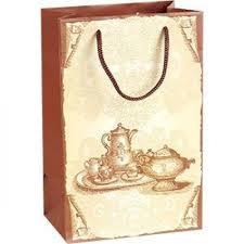 Бумажный <b>пакет подарочный Чайный сервиз</b> 230*150*100 мм ...