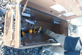 aprs world s gallery nv micro wind test site construction jim building the shelf brackets for the job box 1 5 thick foam goes on