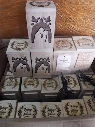 <b>20 pcs Mini</b> Wooden Lamp Thank you for... - Art to Inspire Souvenirs ...
