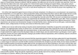 human cloning essay  www gxart orghuman cloning persuasive essay quot advantages and disadvantages of human cloning essay know physics homework answers