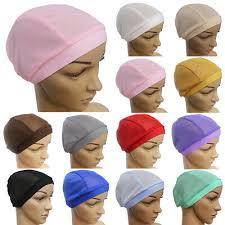 Islamic <b>Muslim Womens</b> Mesh Under Scarf Hijab Headwear <b>Wrap</b> ...