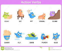 action verbs homework action verbs picture dictionary activity for kids stock vector dreamstime com action verbs picture dictionary activity for kids royalty stock photo
