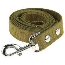 <b>Поводок брезентовый для собак</b> крупных пород 35мм*5м купить ...