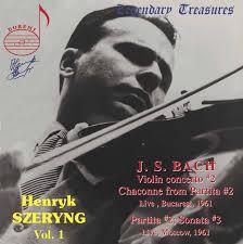 <b>Henryk Szeryng</b>, Vol. 1: <b>Bach</b> (Live) by Johann Sebastian <b>Bach</b> on ...