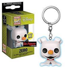 Funko Disney NBX Zero Glow in The Dark Exclu Keychain Pop