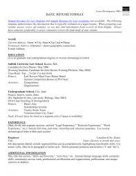 examples of resumes simple sample resume format standard resume format templates themysticwindow resume examples for highschool students skills basic resume examples pdf basic