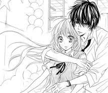 """Résultat de recherche d'images pour """"image manga couple noir et blanc"""""""