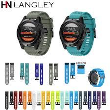 20 <b>22 26MM Silicone Watch</b> Bands For Quickfit Garmin Fenix 5X 5 ...