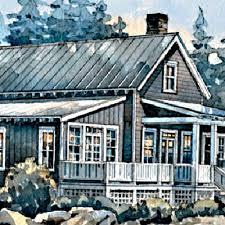 Rustic Beach Cottage   Top House Plans   Coastal LivingPages