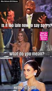 6 Everyday Struggles As Told By Miss Universe Memes | The Odyssey via Relatably.com