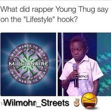 Lifestyle Young Thug Quotes. QuotesGram via Relatably.com