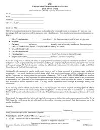 offer letter format offer letter sample job offer letter 01