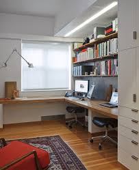 home office desk for two black color furniture office counter design