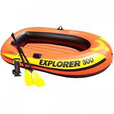 Надувная <b>лодка Explorer</b>-<b>300</b>-Set трехместная 211*117*41 см + ...