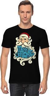Футболка <b>классическая Printio Дед</b> Мороз (Santa) #662923