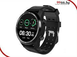<b>Умные часы KingWear KC06</b> Black, цена 338 руб., купить в ...