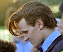 Matt Smith's wig was on show during the filming of the Doctor Who Christmas special in Cardiff yesterday (September 10). Doctor Who filming in Lydstep Park, ... - matt-smith-wig