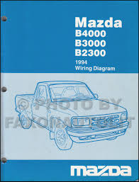 mazda b3000 service manuals shop owner maintenance and repair 1994 mazda b4000 b3000 b2300 pickup truck wiring diagram manual original