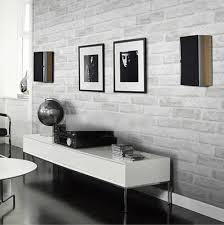 Modern PVC <b>3D Brick</b> Grey White Foam Thick <b>Vinyl Wallpaper</b> 10 ...
