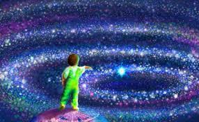 Resultado de imagen para noche galactica  azul